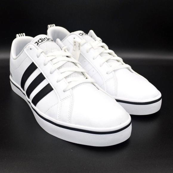 305854cb308cf Adidas Originals Pace VS White Mens Sneaker Shoes.  M 5c3bb6b9f63eeaeb39df3a7d